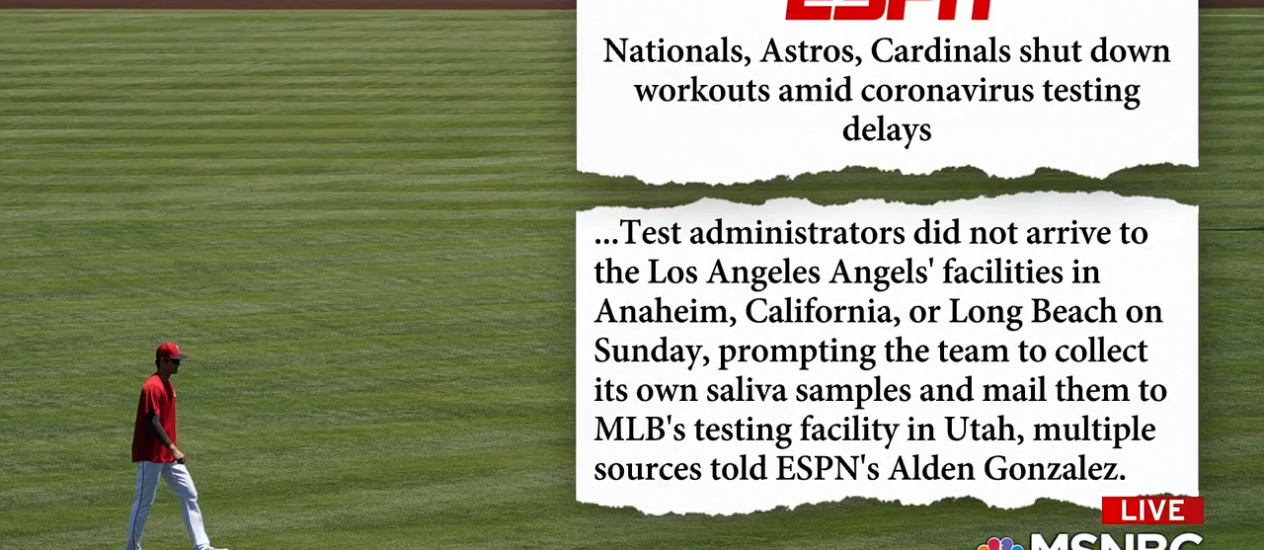 "Baseball: ""The season is jump ball right now"""